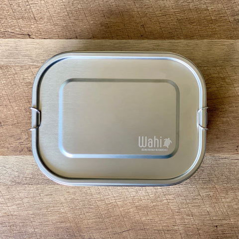 Wahi Leak-proof Stainless Bento Box (with removable divider)