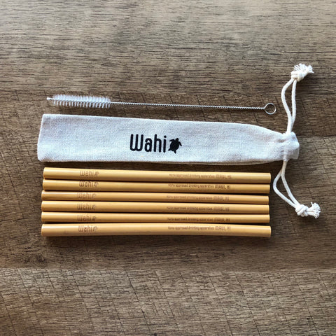Wahi Straw 6 Pack Traveler