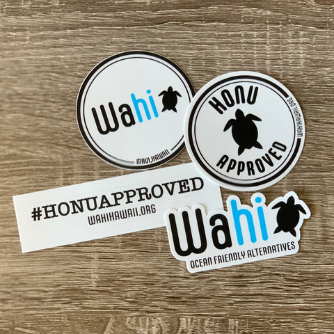 Wahi 4pc Sticker Pack