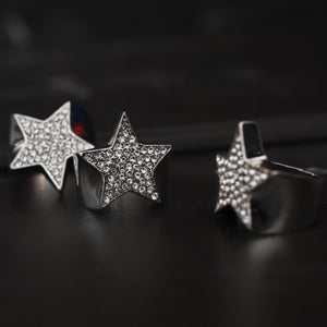 Single Star Ring (Silver)