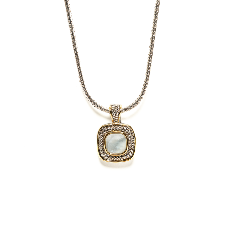 Stone Square Necklace