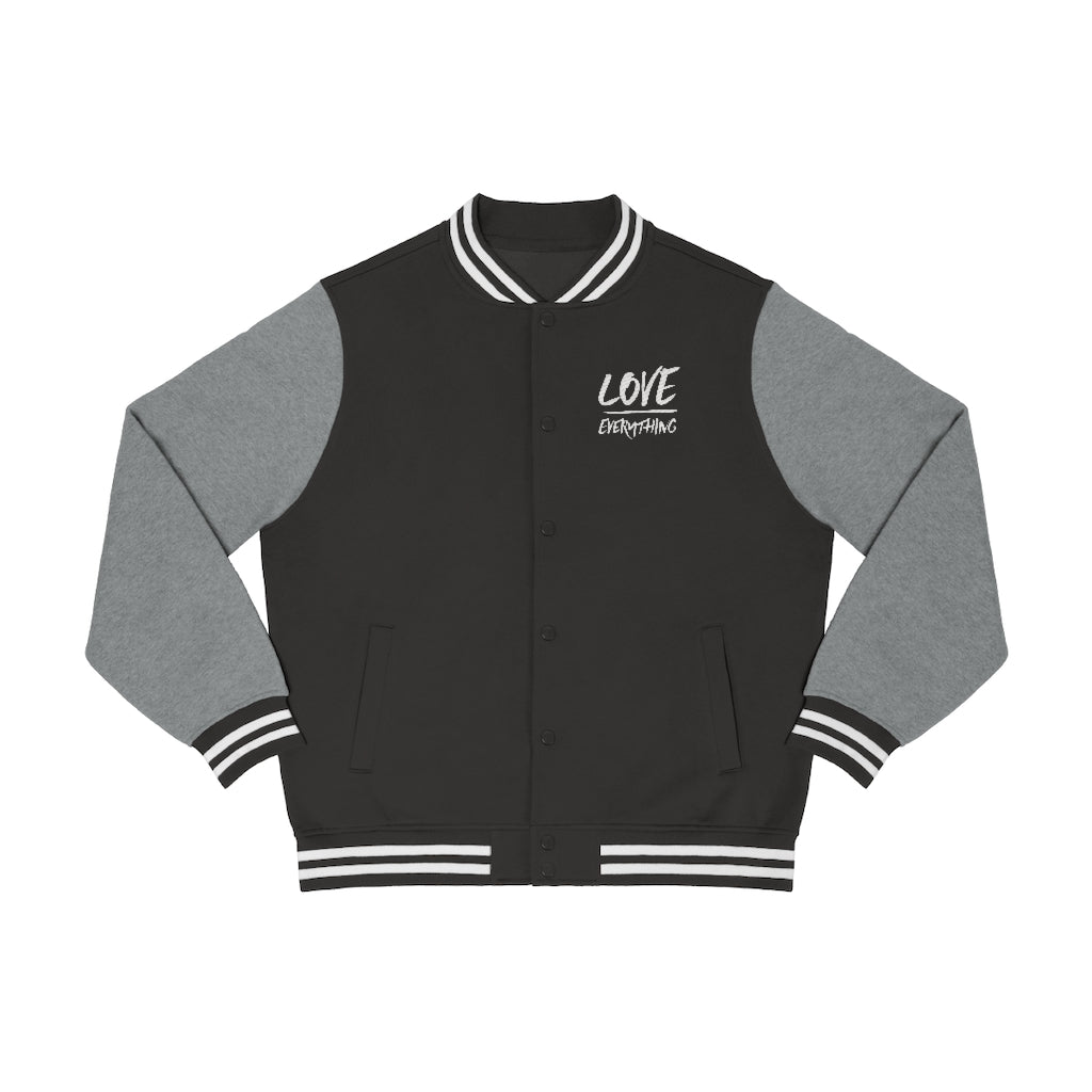 Love Over Everything Men's Varsity Jacket