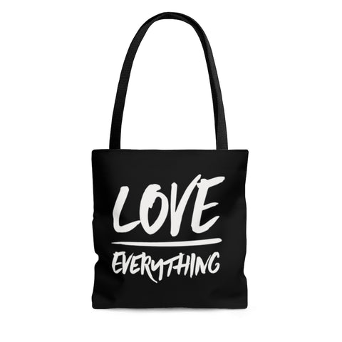 """Love Over Everything"" Tote Bag"