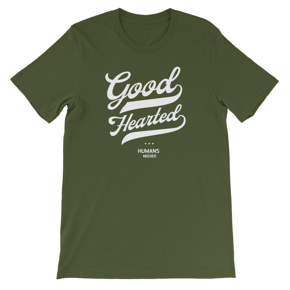 Good Hearted Script Unisex T-Shirt