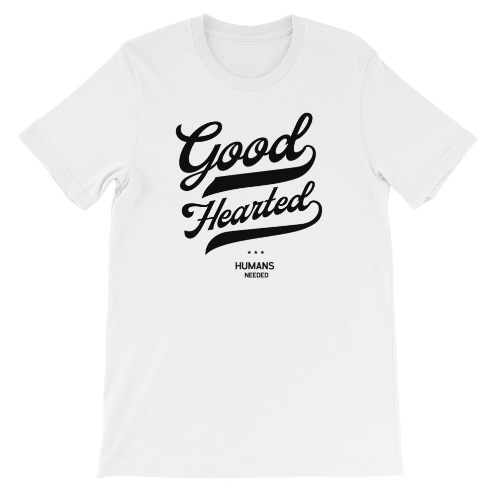 Good Hearted Script Unisex Tee