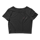 """TOGETHER"" Chest Logo Women's Crop Tee"