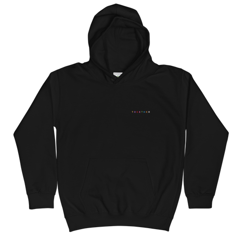 """TOGETHER"" Chest Logo (Youth Hoodie)"