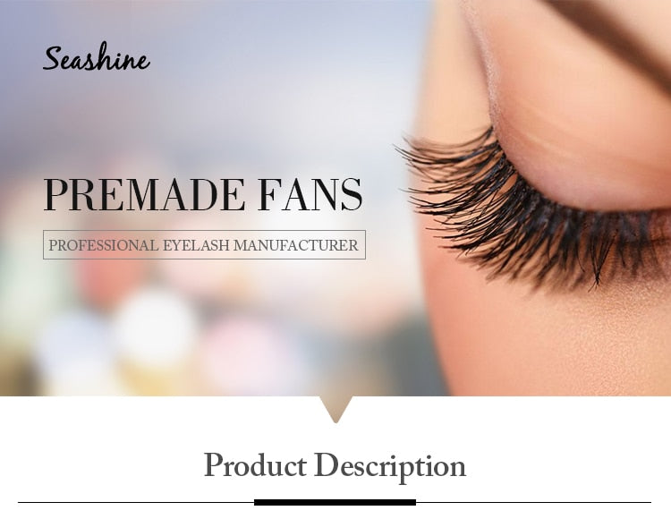 3D Premade Fan Volume Eyelash Extensions
