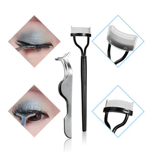1 Set Grafting Eyelashes Tools