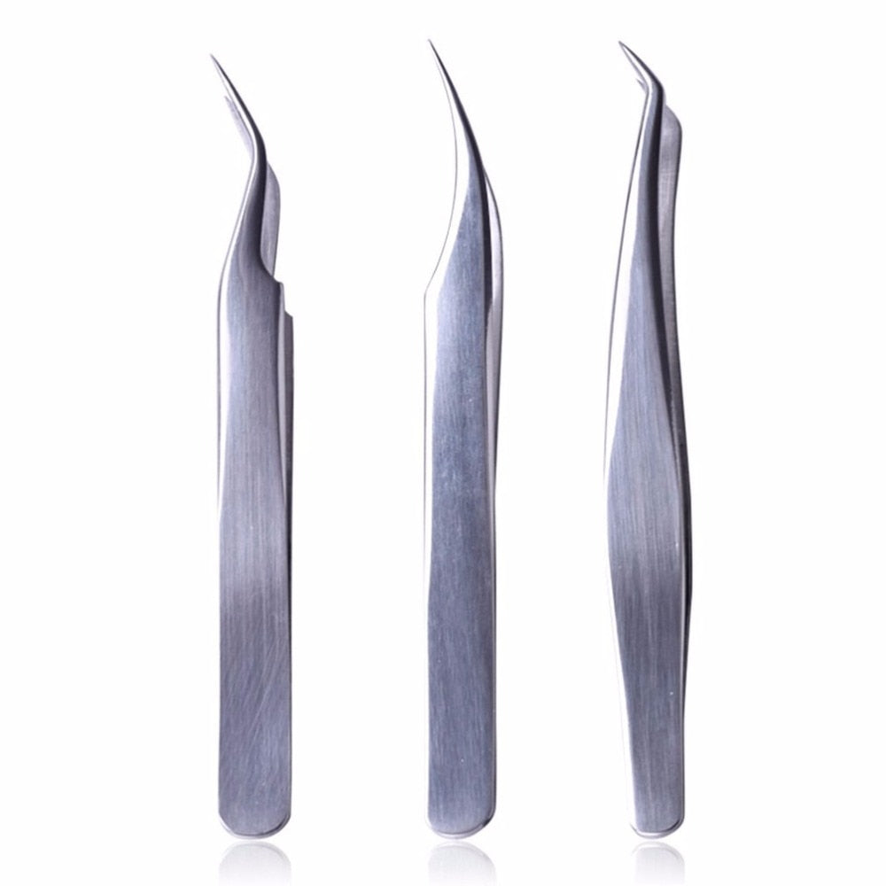 Tweezers for Eyelash Extension, Tweezers set