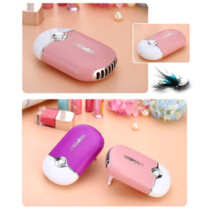 Mini Fan Air Conditioning Blower, Eyelashes Dedicated Dryer