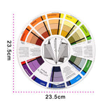 1Pc Micro Tattoo Ink Color Pigment, Color Mixing Wheel