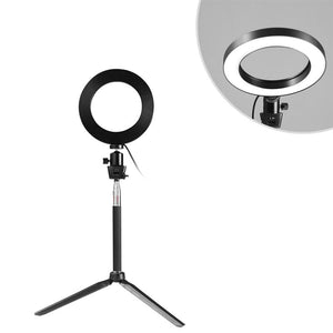 Ring Light  5 In 1 LED Lamp With Clamp
