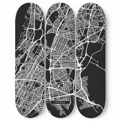 City Maps Bronx (USA)