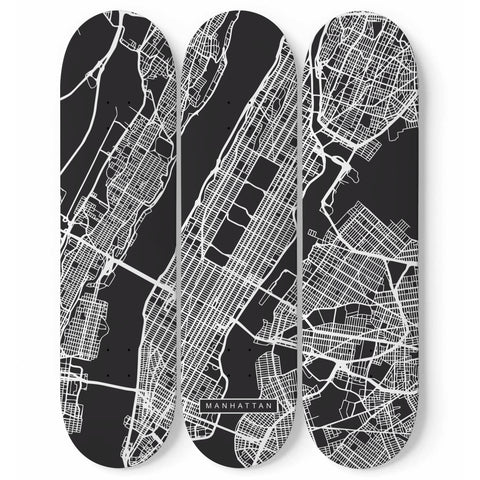 City Maps Manhattan (USA)