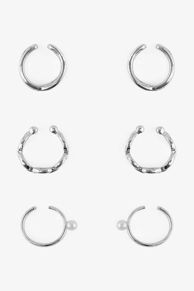Luz 3-Pack Charm Earrings