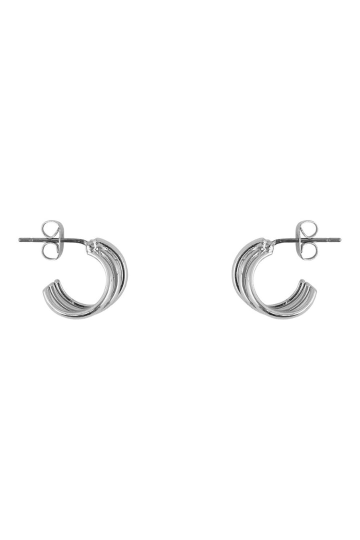 Lumis Twist Hoop Earrings