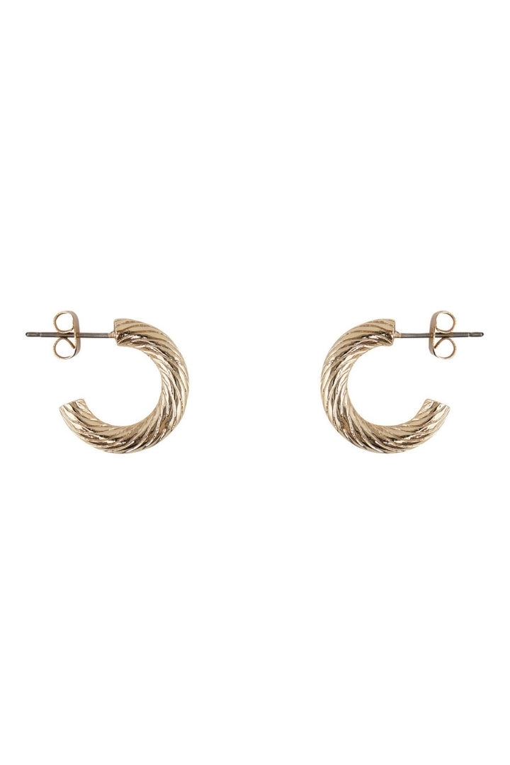 Lumis Chunky Hoop Earrings