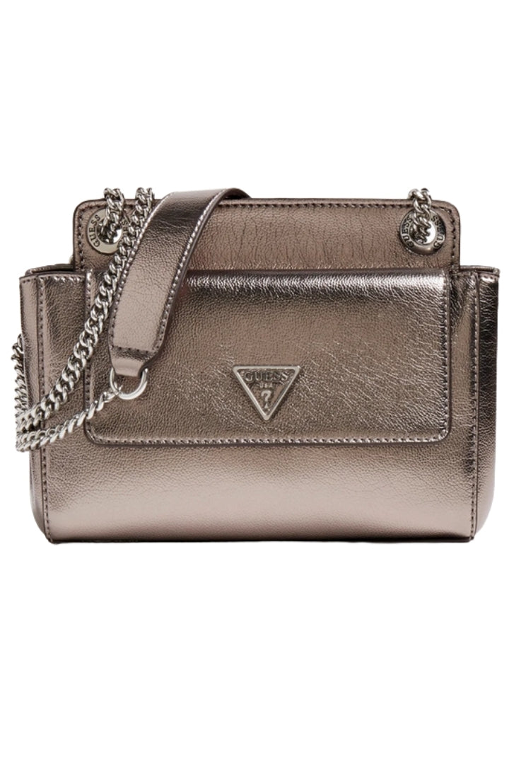 Sandrine Laminated Crossbody Bag