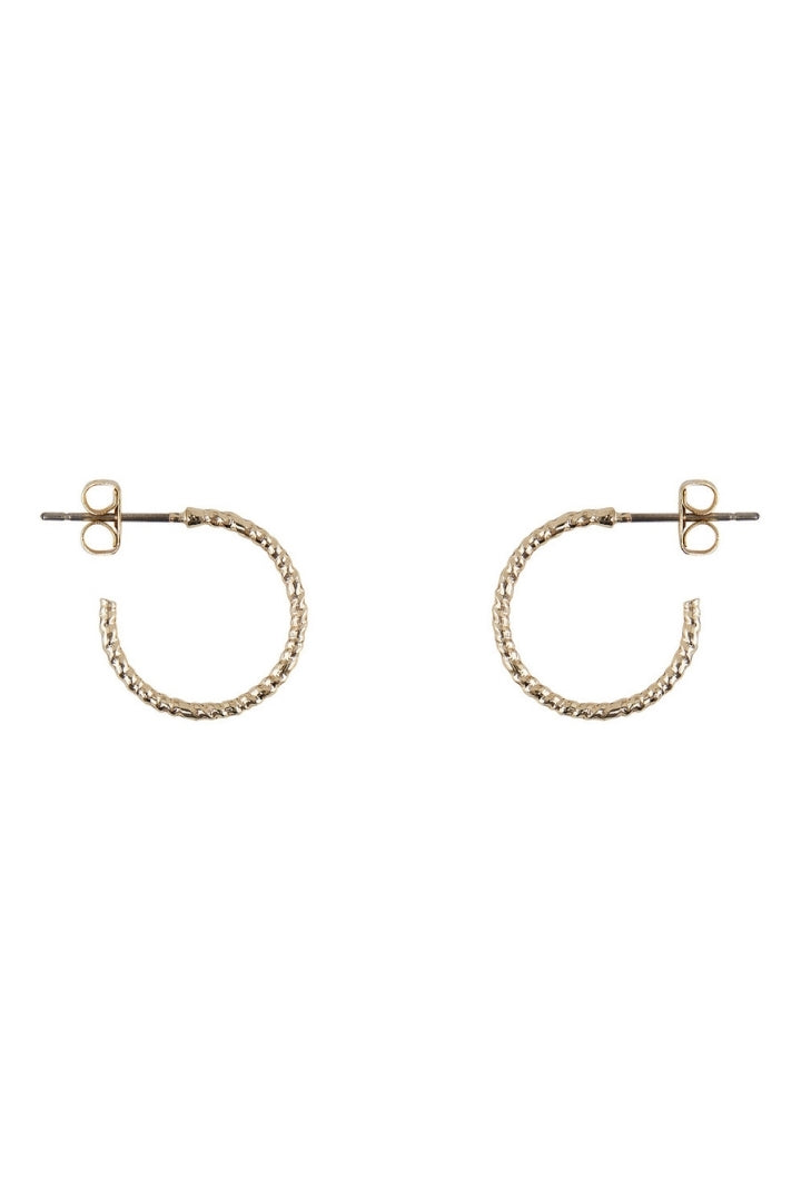 Lumis Thin Hoop Earring