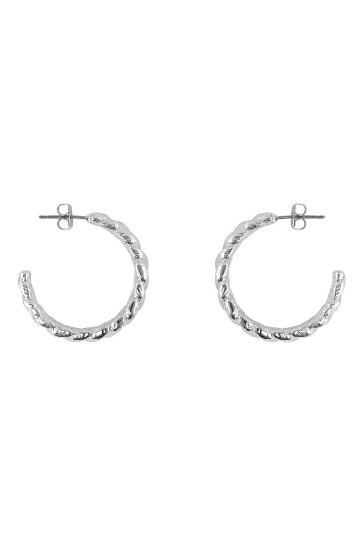 Swap Hoop Earrings Chunky