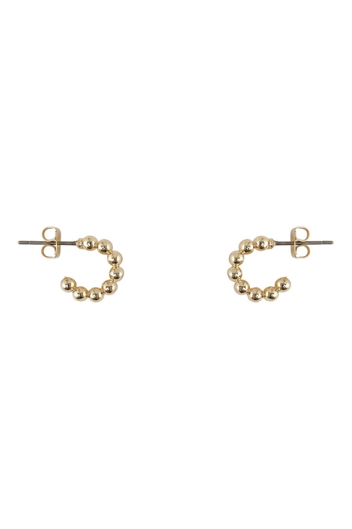 Lumis Bobble Hoop Earrings
