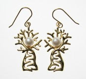 STAIRCASE TO THE MOON BOAB TREE EARRINGS