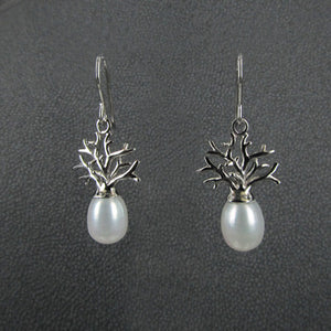 BOAB TREE EARRINGS WITH PEARLS