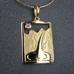 EMMA GORGE WATERFALL PENDANT