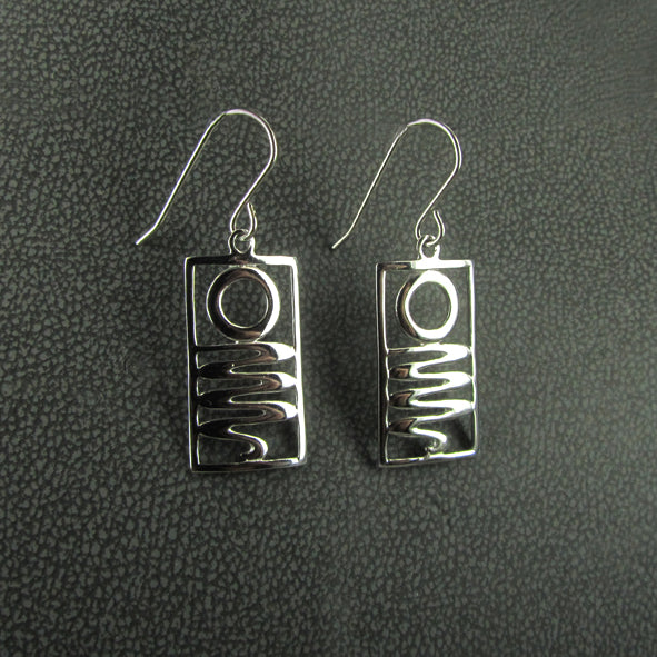 STAIRCASE TO THE MOON EARRINGS