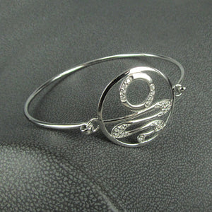 STAIRCASE TO THE MOON CZ BANGLE