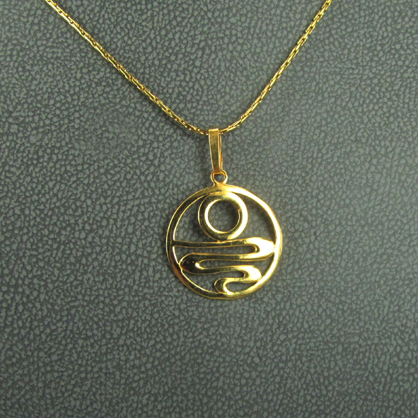 STAIRCASE TO THE MOON PENDANT