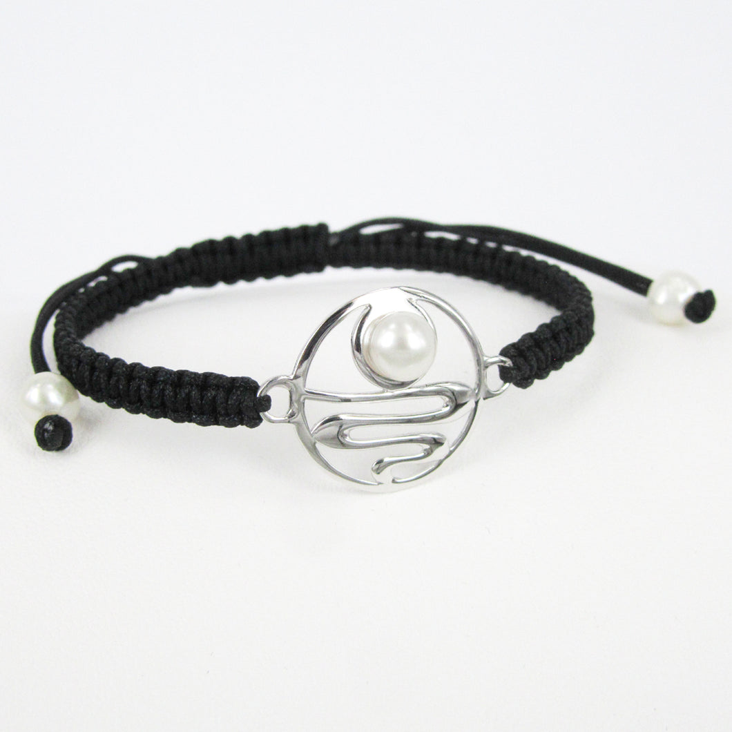 STAIRCASE TO THE MOON STRING BRACELET