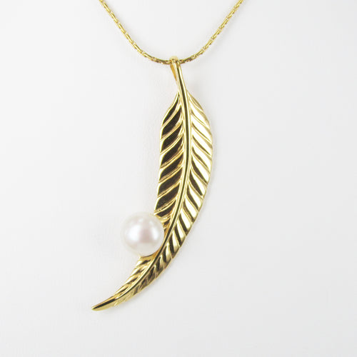 GUMLEAF / FEATHER PENDANT