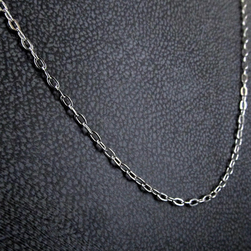 STEEL EXTENSION CHAIN SILVER THIN