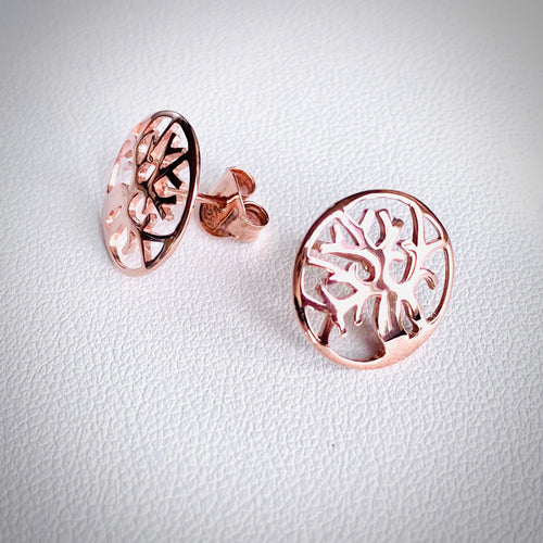 BOAB TREE STUD EARRINGS