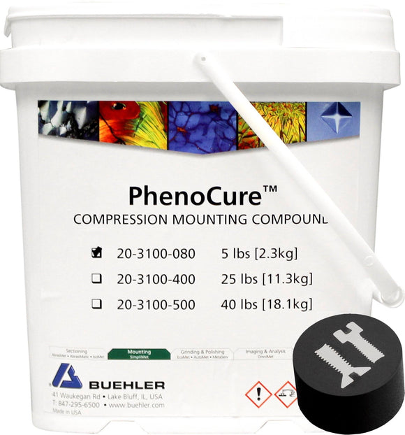PhenoCure Powder, Black, 5lb [2.3kg]