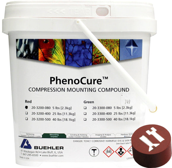 PhenoCure Powder, Red, 5lb [2.3kg]