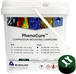 PhenoCure Powder, Green, 5lb [2.3kg]