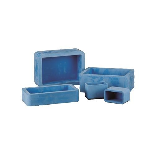 EPDM Rectangle Mold, 6x4x2in