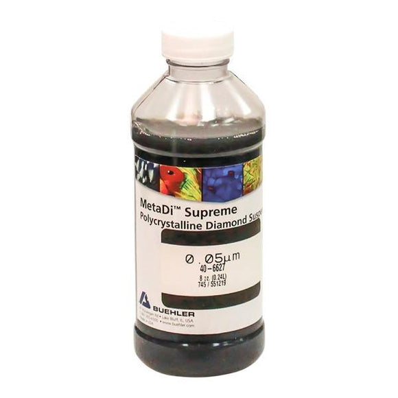 MetaDi Supreme, Poly, 0.05 µm 8oz-p - JH Technologies