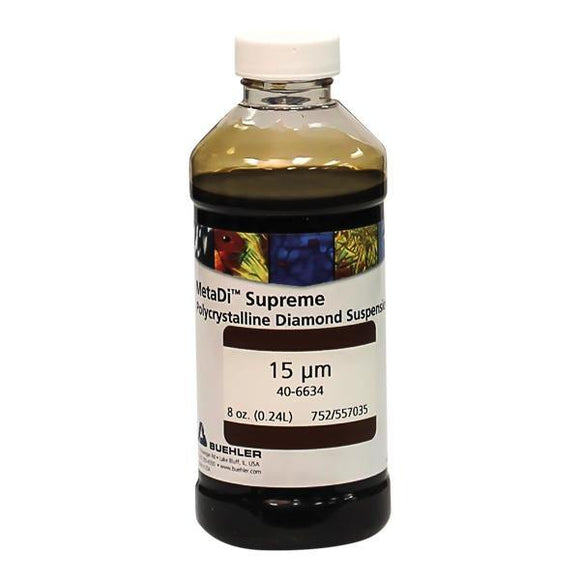 MetaDi Supreme, Poly, 15 µm 8oz-p - JH Technologies