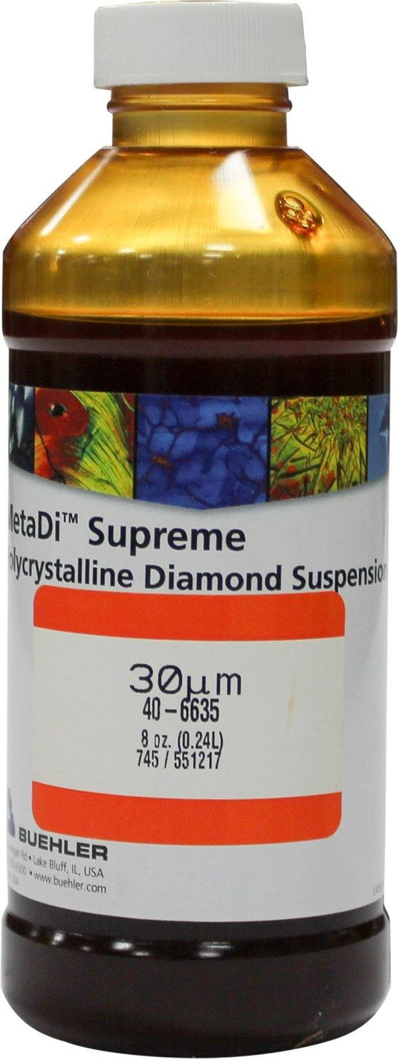 MetaDi Supreme, Poly, 30 µm 8oz-p - JH Technologies