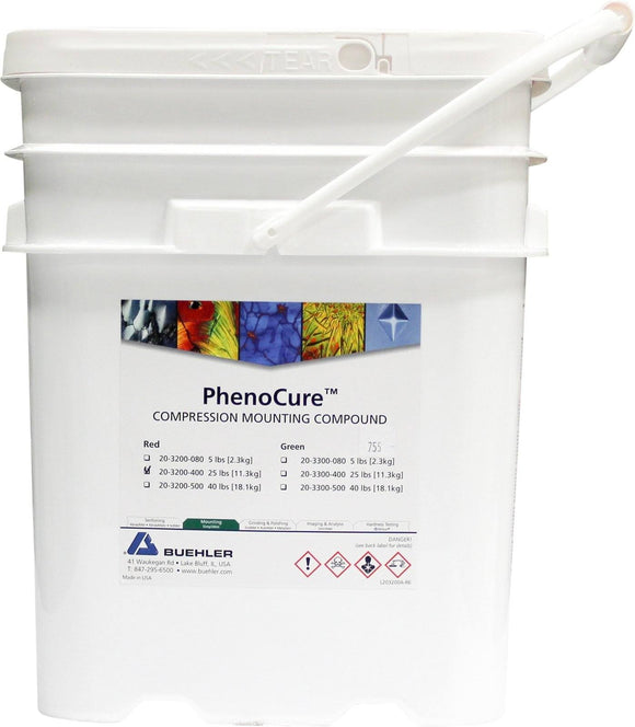 PhenoCure Powder, Red, 25lb [11.3kg]
