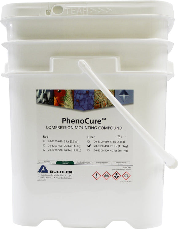 PhenoCure Powder, Green, 25lb [11.3kg]
