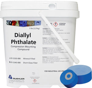 Diallyl Phthalate, Glass Filled, 5lb [2.3kg]