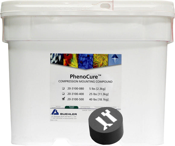 PhenoCure Powder, Black, 40lb [18.1kg]