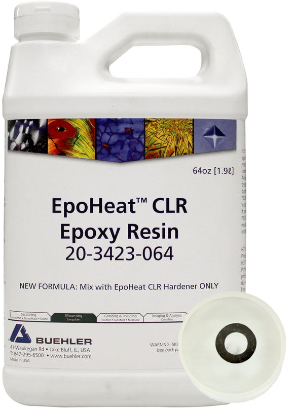 EpoHeat CLR Resin, 64oz [1.9L]
