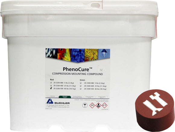 PhenoCure Powder, Red, 40lb [18.1kg]