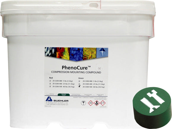 PhenoCure Powder, Green, 40lb [18.1kg]